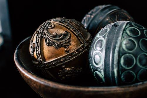 고대의, 골동품, 골드, 금속 가공의 무료 스톡 사진