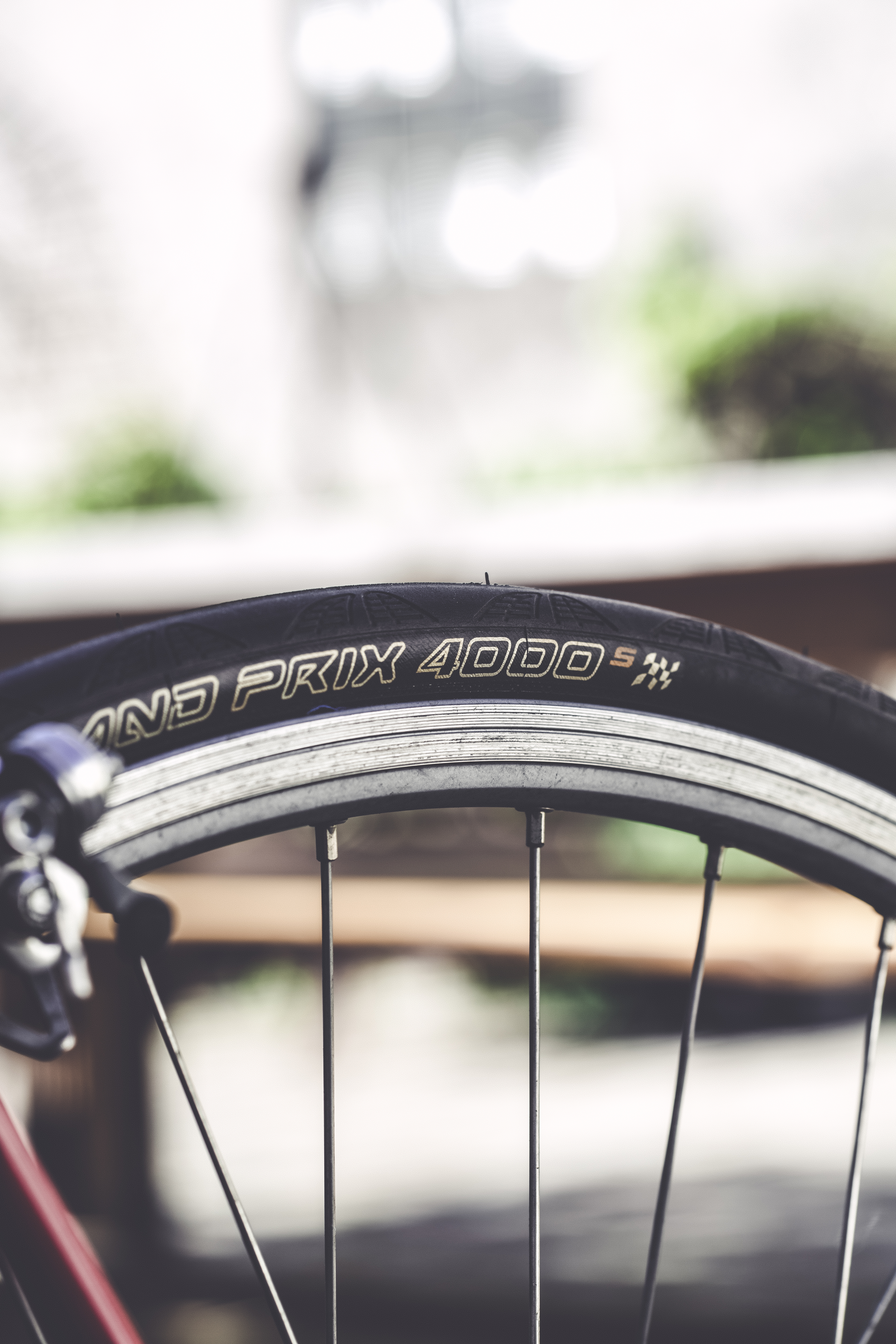 Close-up Photo of Black Bike Wheel