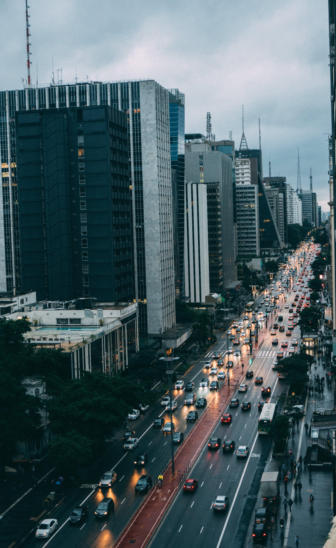 Free stock photo of city, road, traffic, landmark