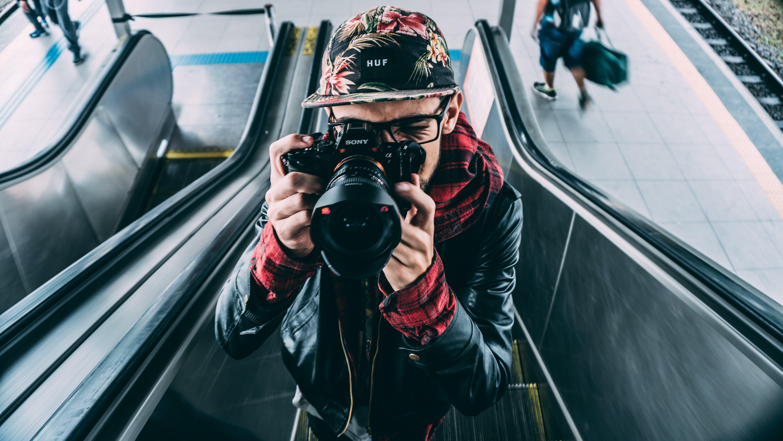 Fotobanka sbezplatnými fotkami na tému človek, DSLR, fotoaparát, fotograf