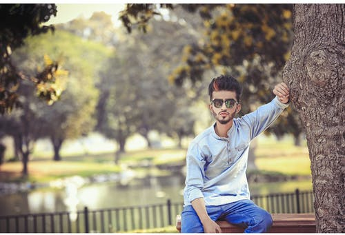 人, 公園, 墨鏡, 時尚 的 免費圖庫相片