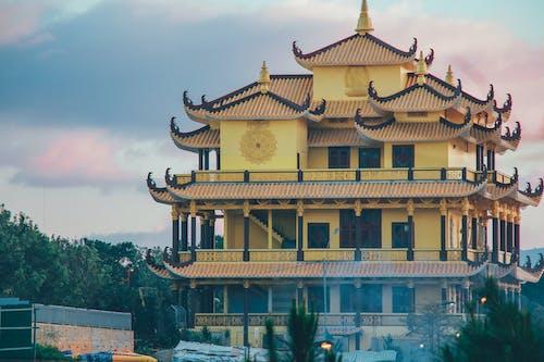 黄色い寺院