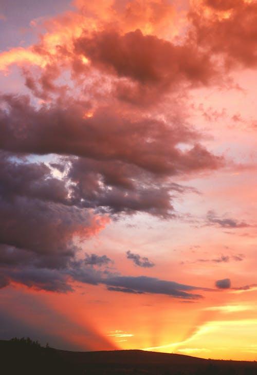 Δωρεάν στοκ φωτογραφιών με ακτίνα ηλιοβασιλέματος