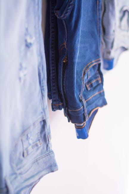 Blue denim bottoms