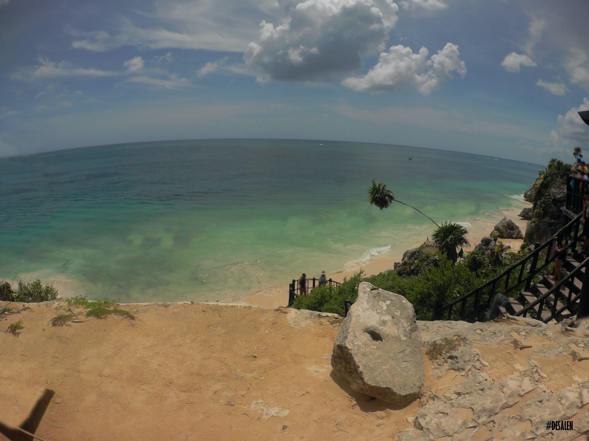 Gratis lagerfoto af caribien, hav, mexico, tulum