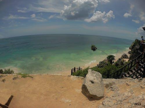 Δωρεάν στοκ φωτογραφιών με tulum, θάλασσα, Καραϊβική, Μεξικό