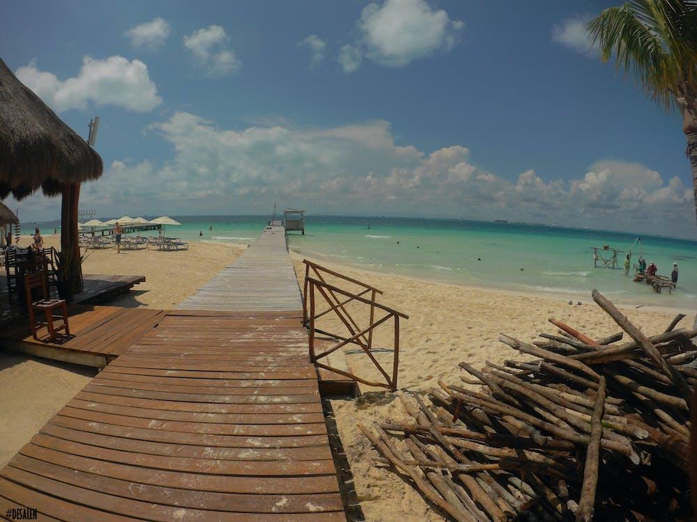 hiekka, hiekkaranta, meri