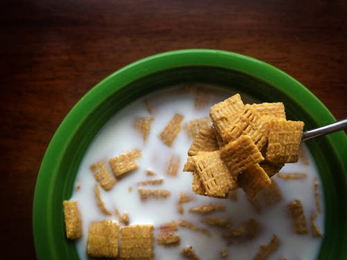 Cereal in Bowl
