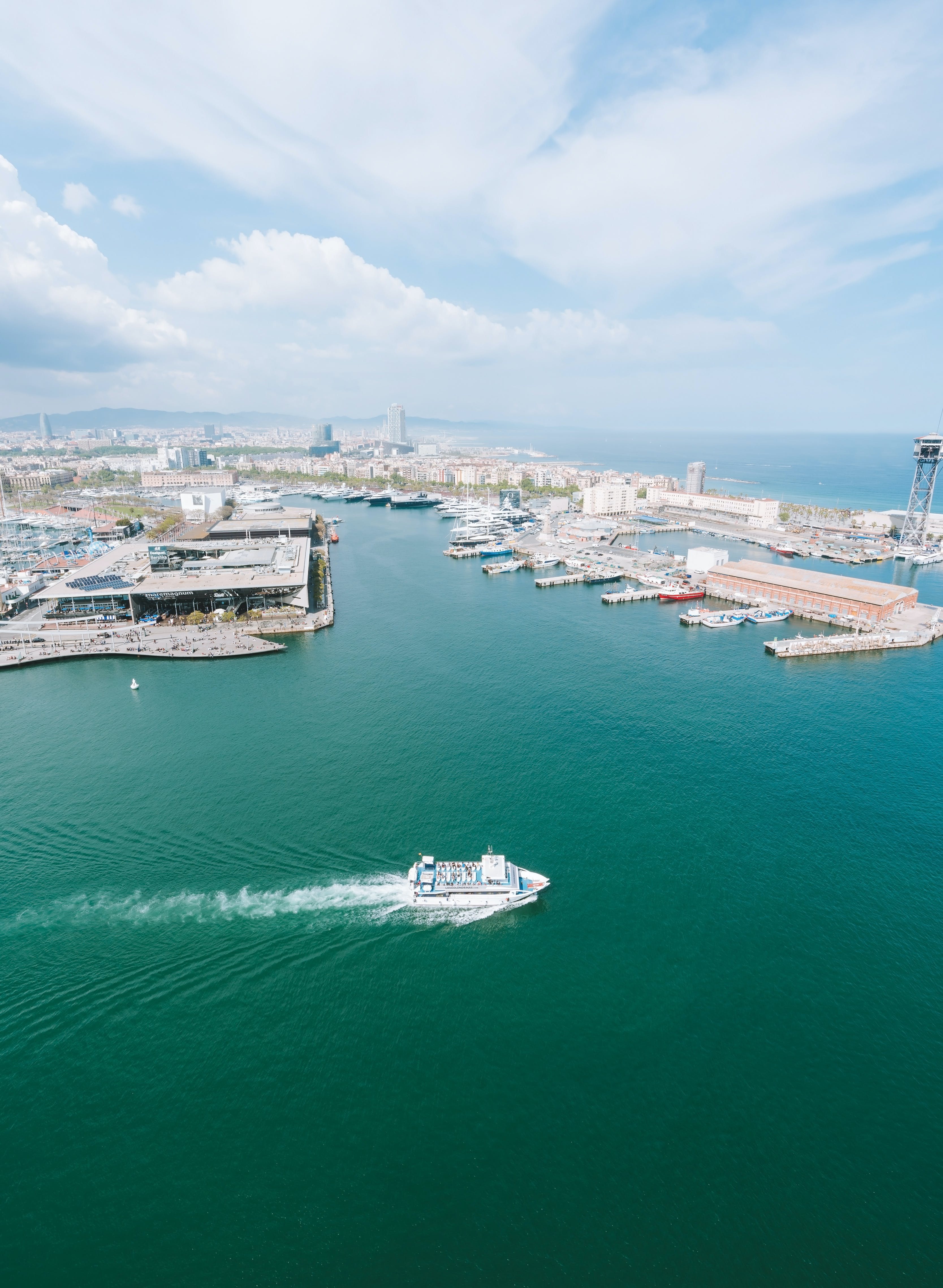 Aerial Photography of Boats and Buildings