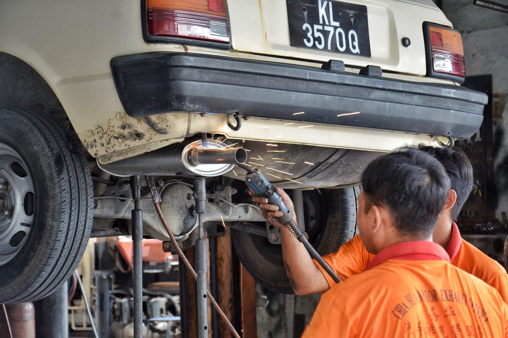 Free stock photo of car repair, mechanic, repair, spark