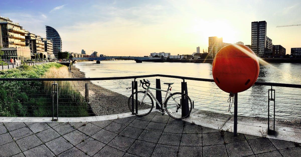 Free stock photo of bike, london, river thames