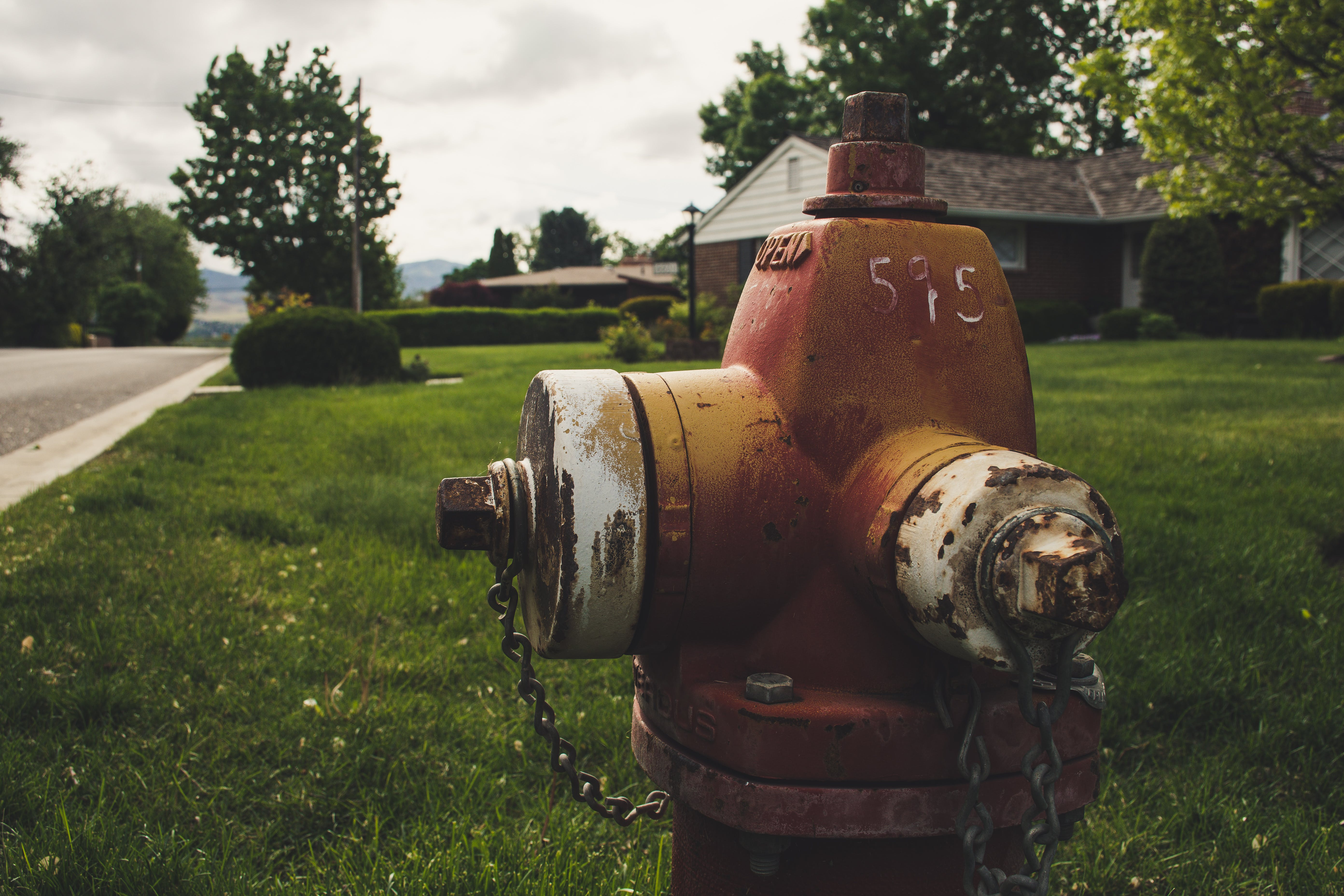 Photo of Red Fire Hydrant