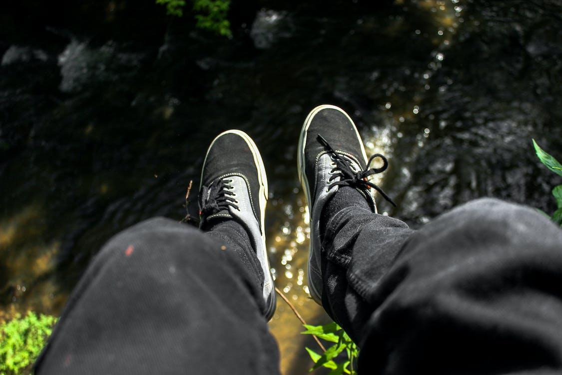 natura, stopy, wieszać