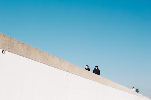 おとこ, アダルト, 壁, 建物の無料の写真素材