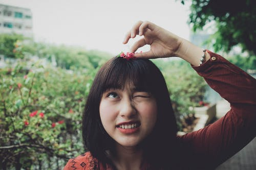 Foto d'estoc gratuïta de asiàtica, bellesa, bonic, bufó
