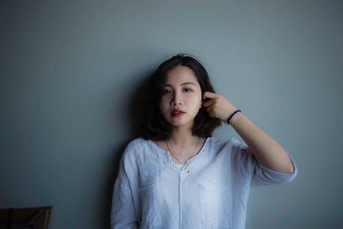 Základová fotografie zdarma na téma asiatka, asijská holka, brunetka, dívání