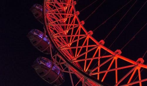 london eye, şehir Işıkları içeren Ücretsiz stok fotoğraf