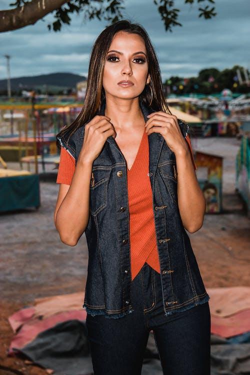 Kostenloses Stock Foto zu fashion, frau, hübsch, mädchen