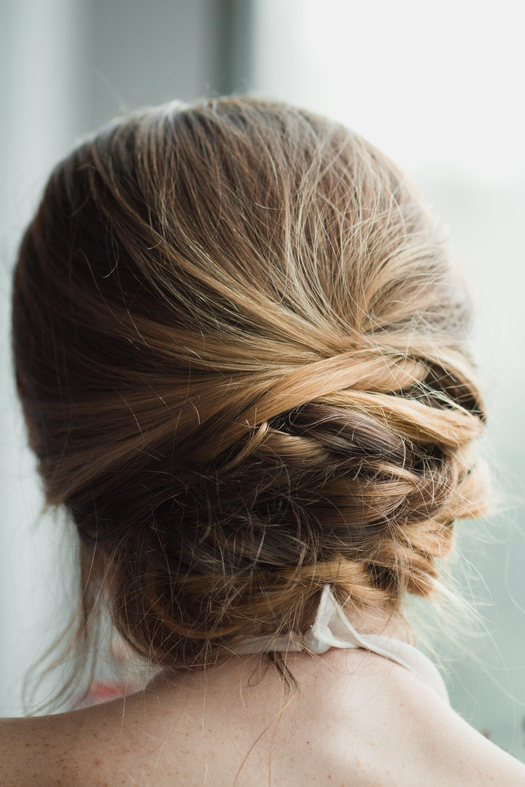 Woman's Blonde Hair