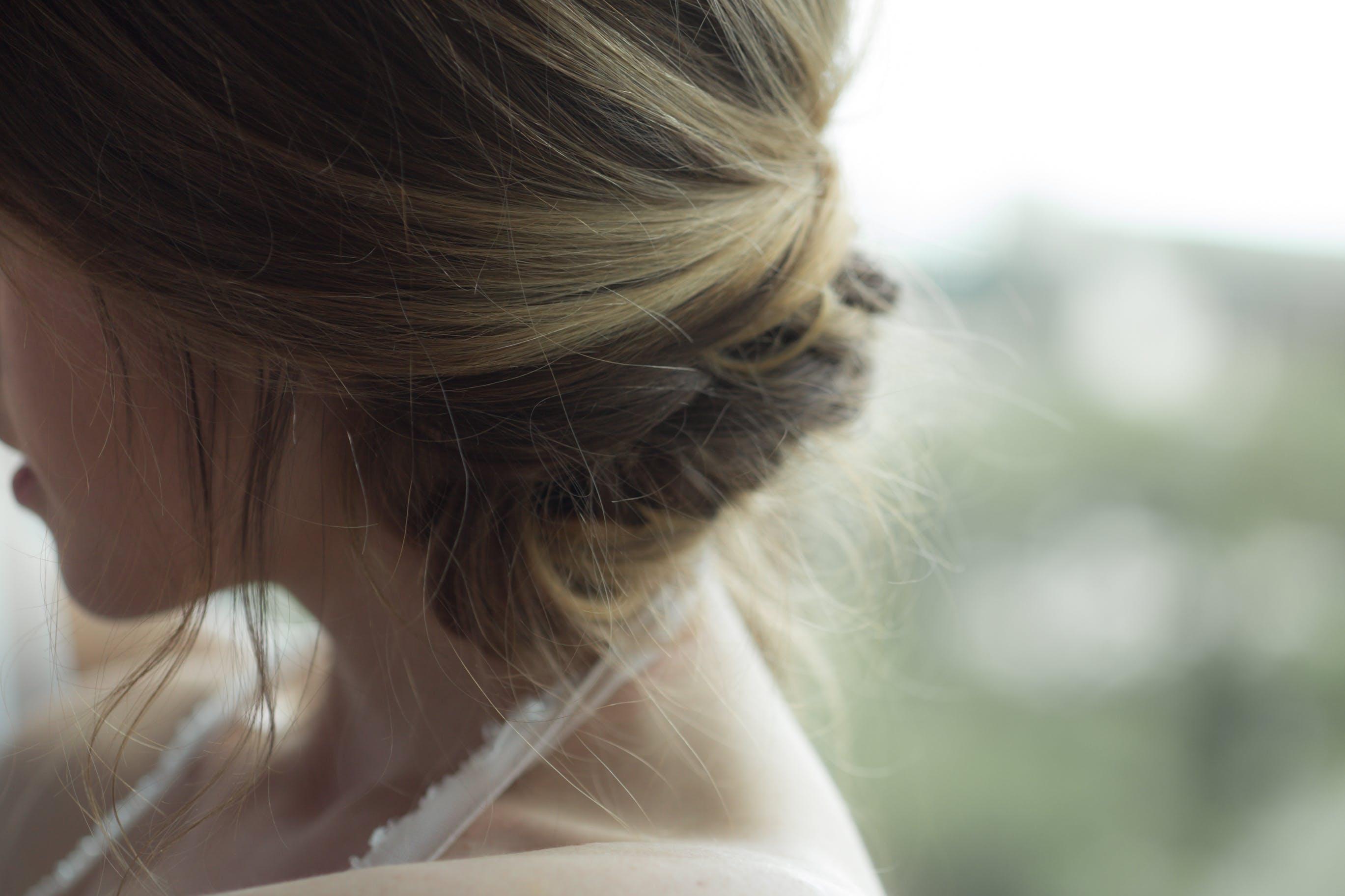 Woman Wearing White Halter-neck Top