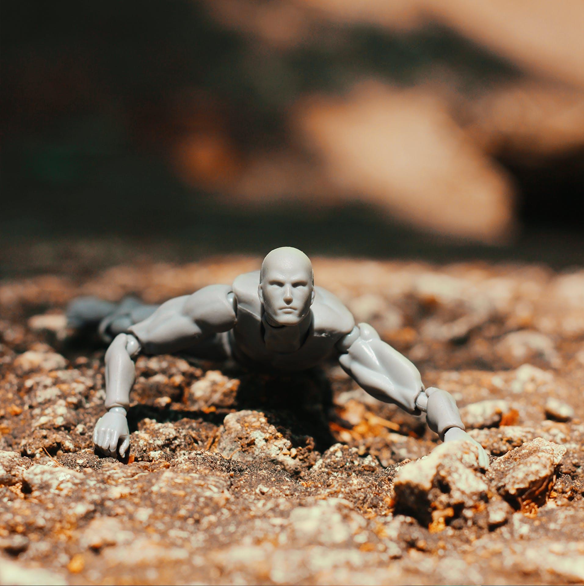Δωρεάν στοκ φωτογραφιών με body kun, βράχια, μικρογραφία, μικροσκοπικό παιχνίδι