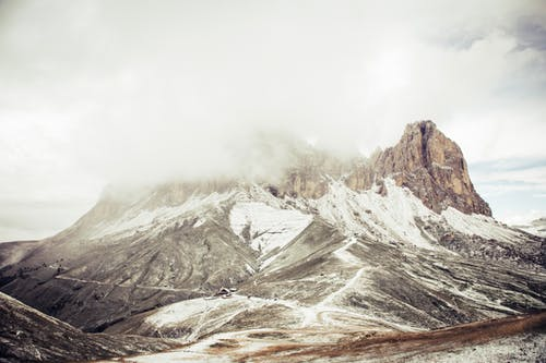Free stock photo of clouds, fog, landscape, mountain