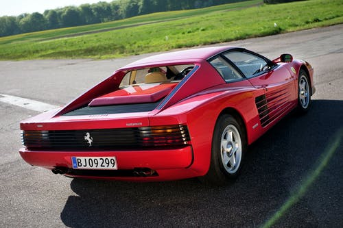 Kostnadsfri bild av asfalt, bil, bil-, Ferrari