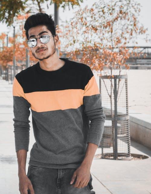 Kostnadsfri bild av glasögon, ha på sig, man, mode