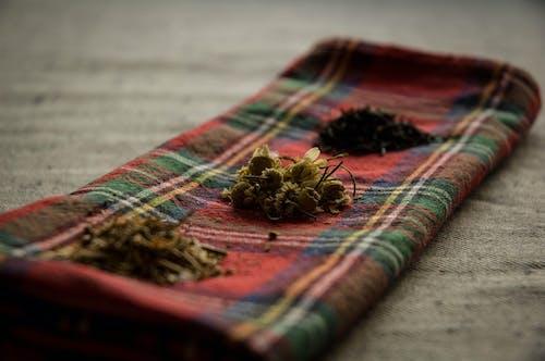 Δωρεάν στοκ φωτογραφιών με βότανα, ξηρά βότανα, πετσέτα κουζίνας, τσάι