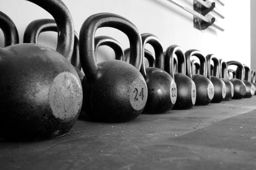Free stock photo of academia, crossfit, gym, kettlebell