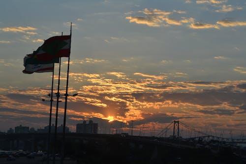 Photos gratuites de # paradis, #drapeau, #soleil