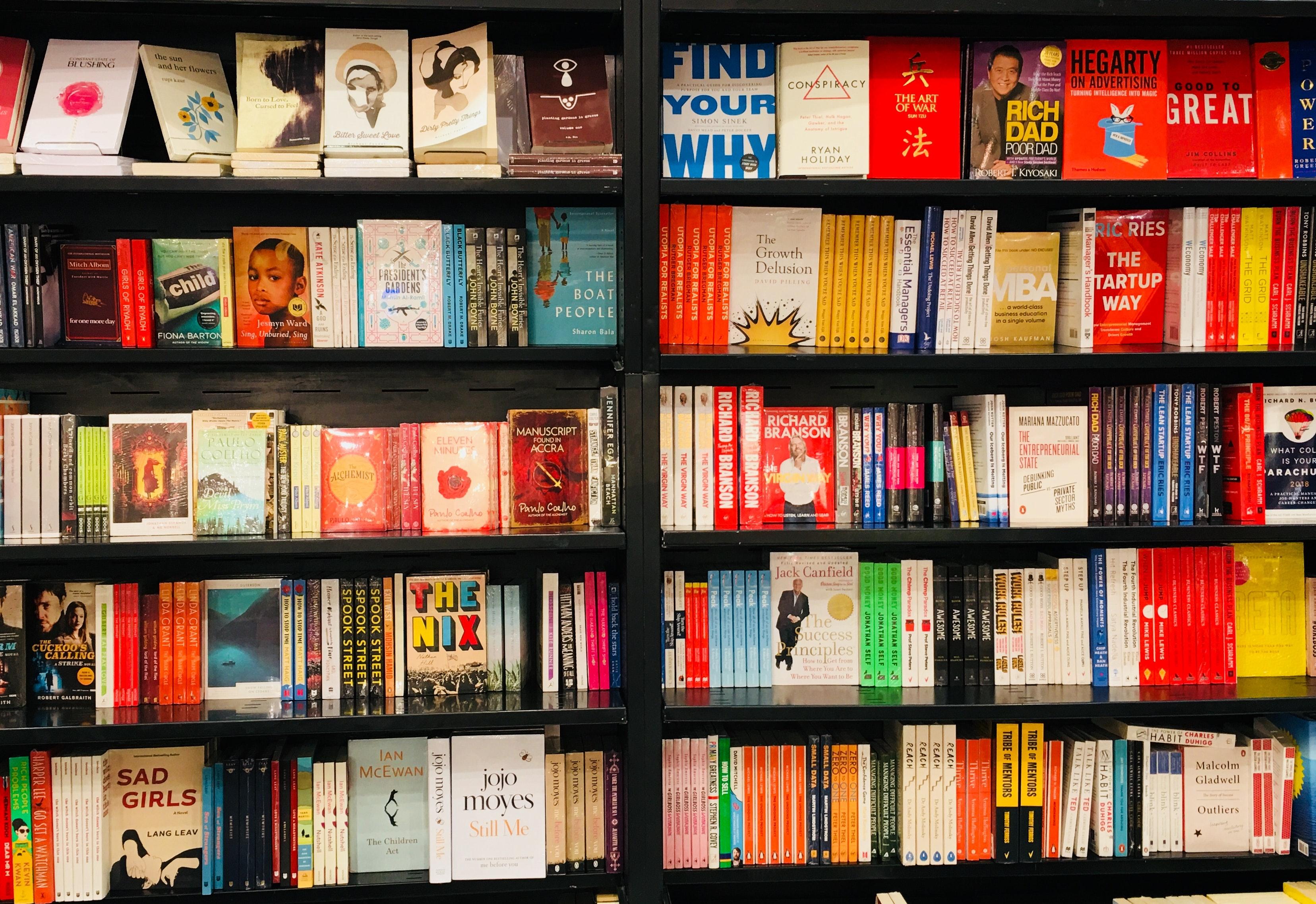 Free Stock Photo Of Arrangement Book Bookshelf