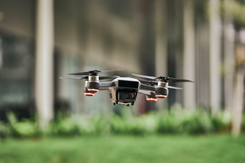 Focus Photo of Quadcopter