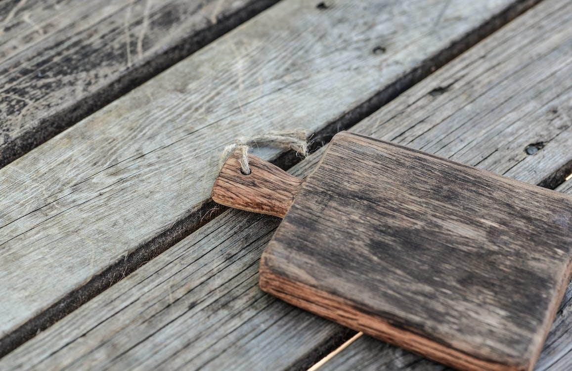 Brown Wooden Chopping Board Closeup Photography