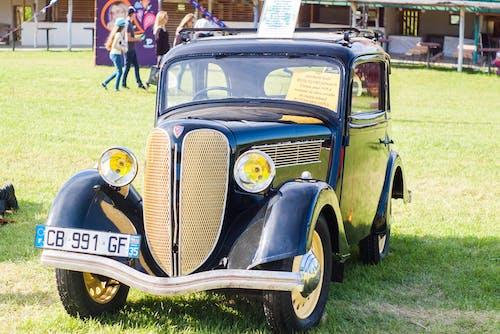 Free stock photo of old car, retro, retrocar