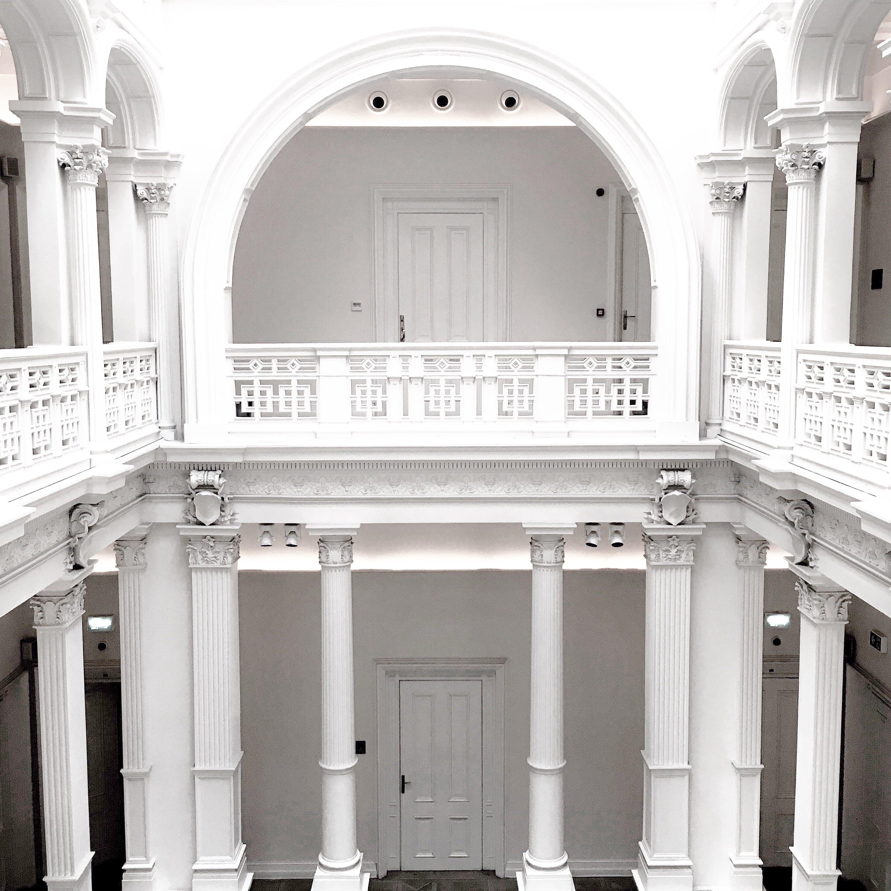 Δωρεάν στοκ φωτογραφιών με αρχιτεκτονική, αψίδα, είσοδος, κτήριο