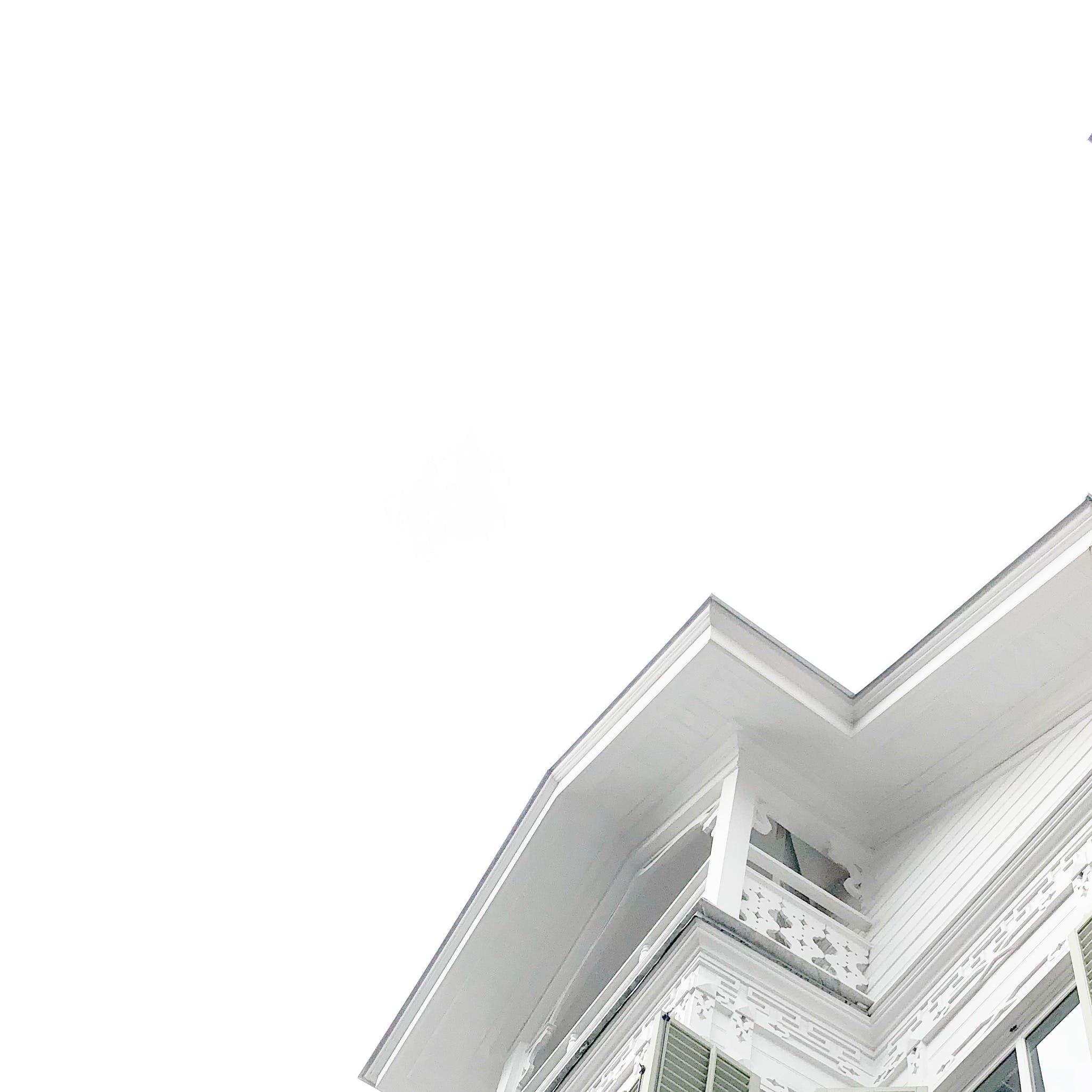 House Under White Sky
