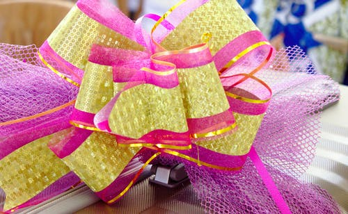 Free stock photo of gift packaging, gift wrap, ribbon, ribbons