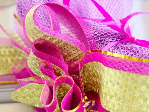 Free stock photo of gift packaging, ribbon, ribbons