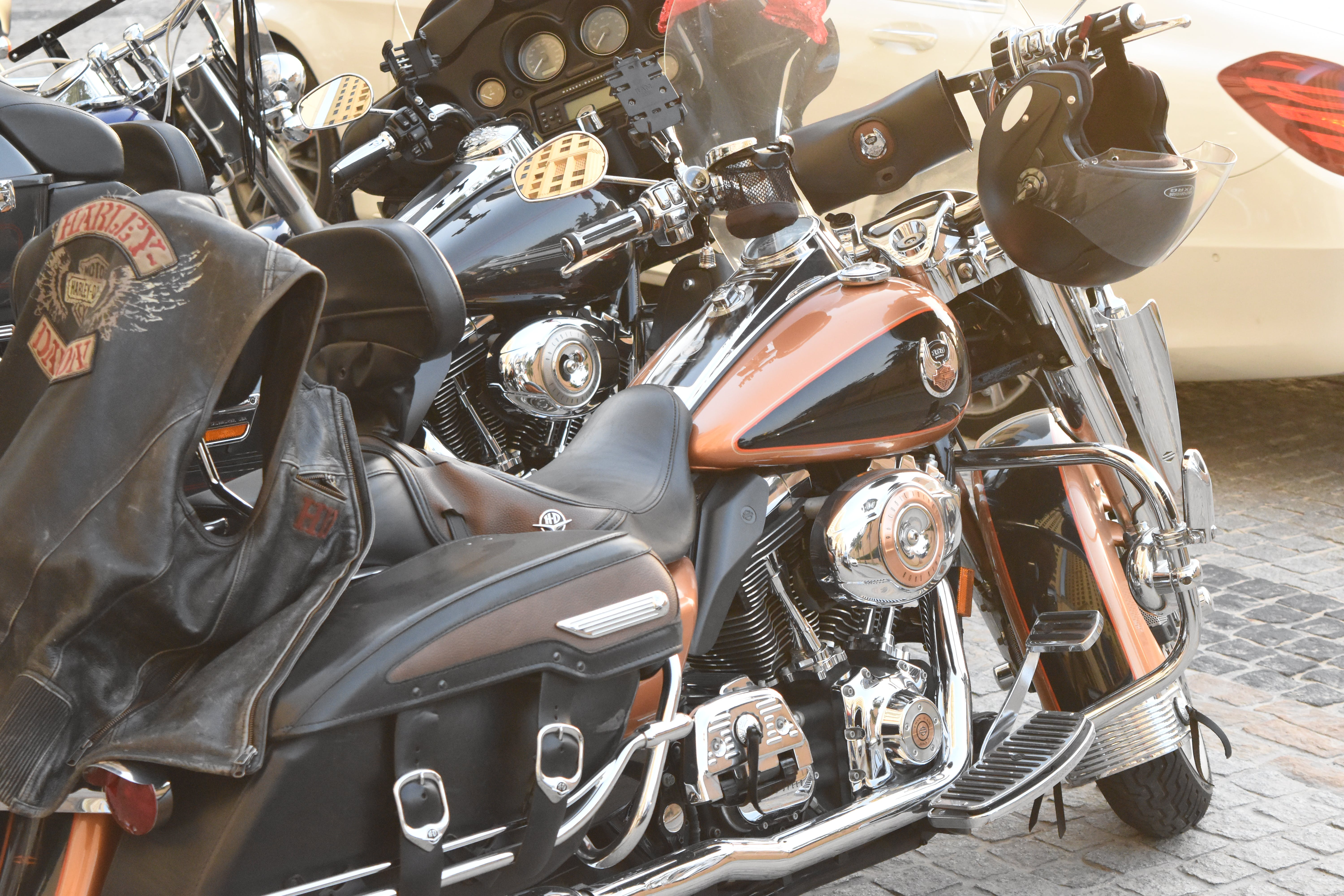 Free stock photo of chopper, dubai, harley-davidson, jbr