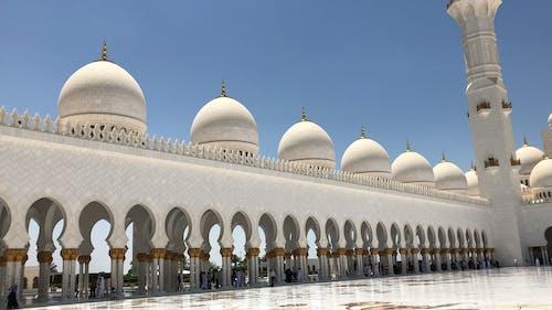 Darmowe zdjęcie z galerii z abu dabi, dubaj, meczet, meczet sheikh zayed