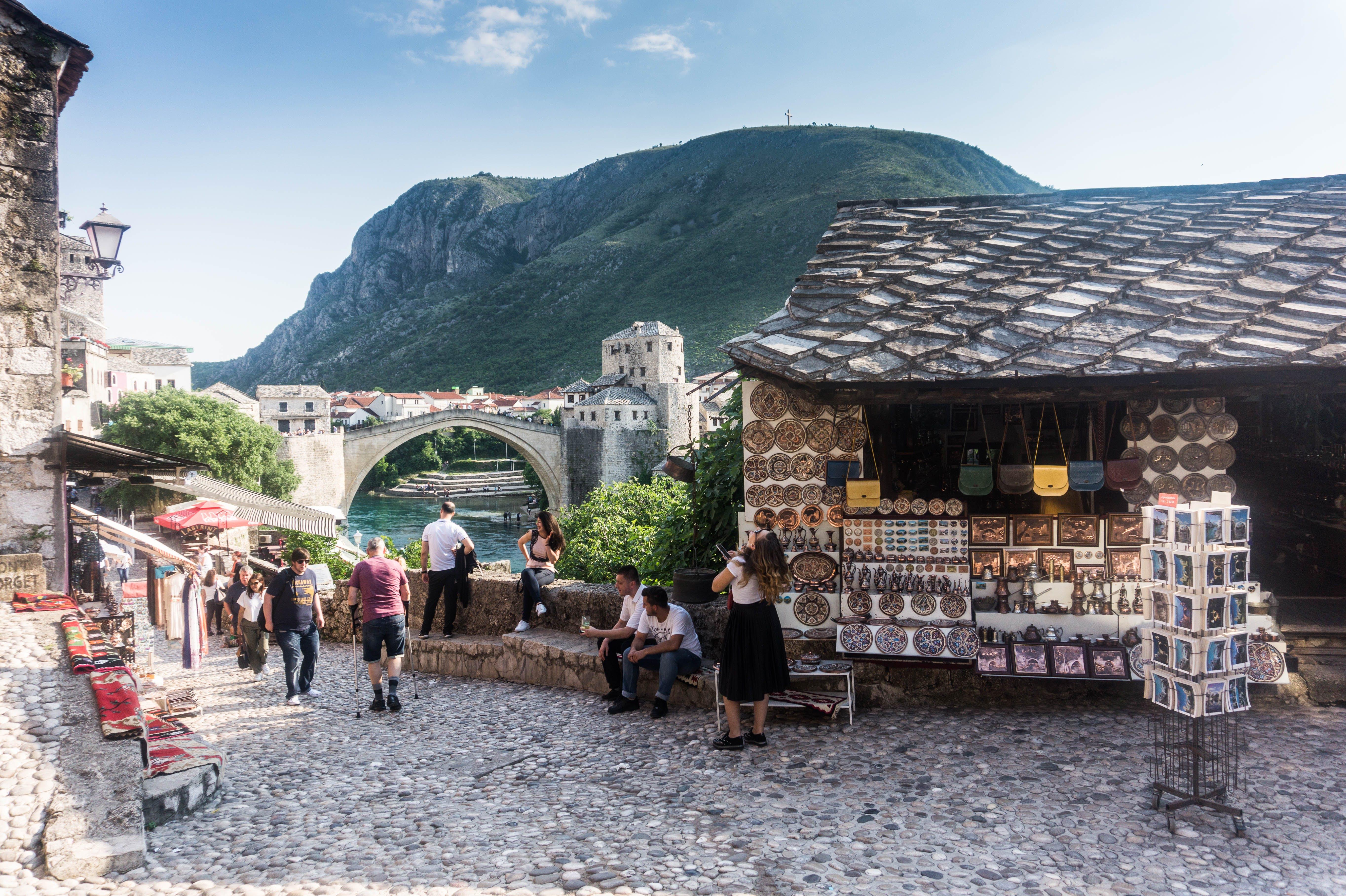 Photography of Village Near Mountain