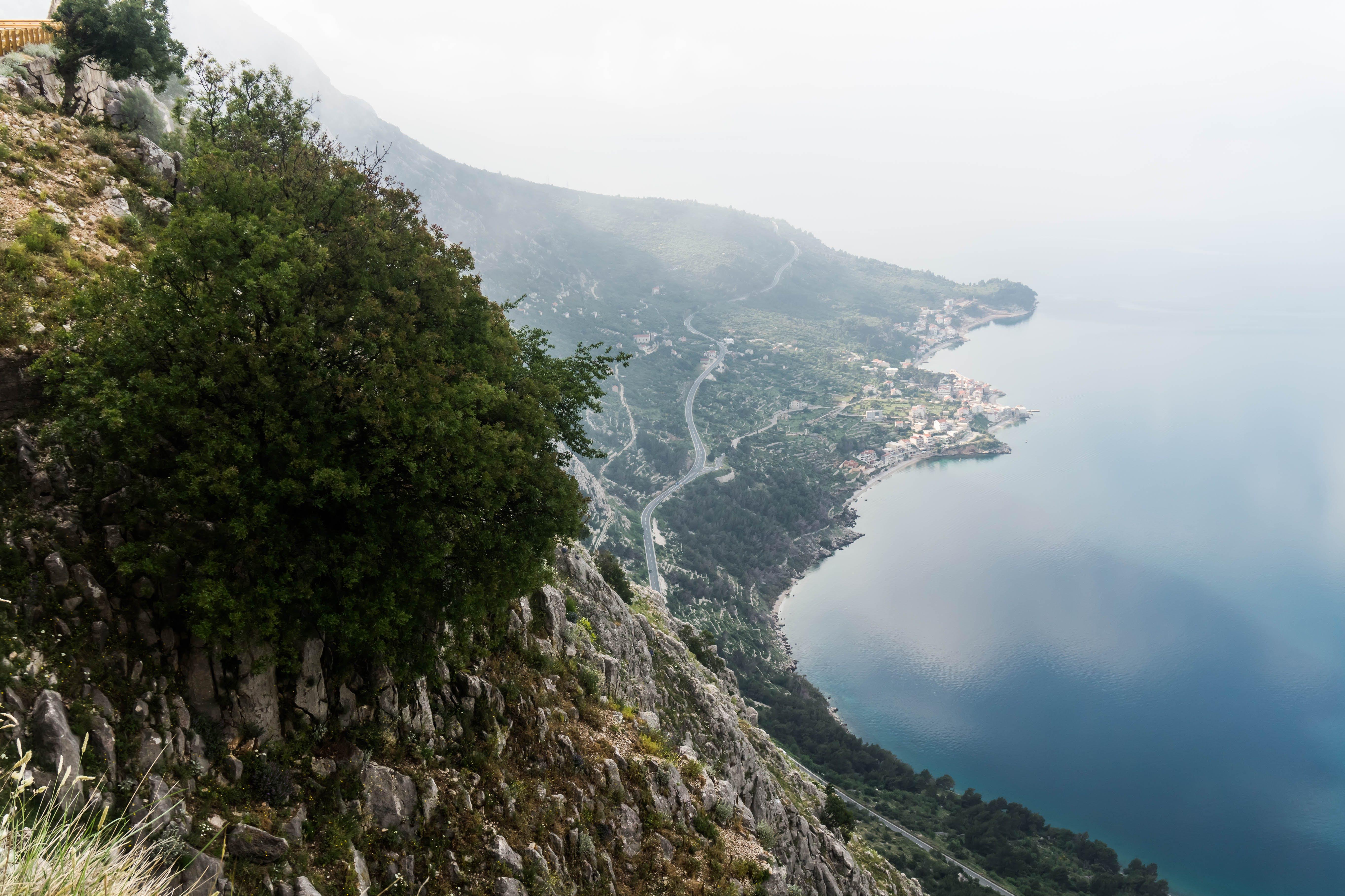 Бесплатное стоковое фото с вода, высокий, гора, деревья