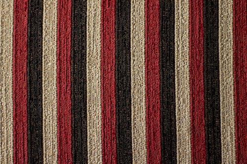 枕頭, 條紋, 白色, 紅色 的 免费素材照片