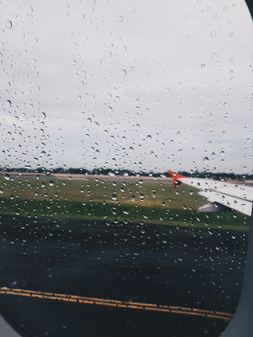 Free stock photo of after the rain, airport