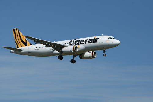 Tigerair Airplane Taken