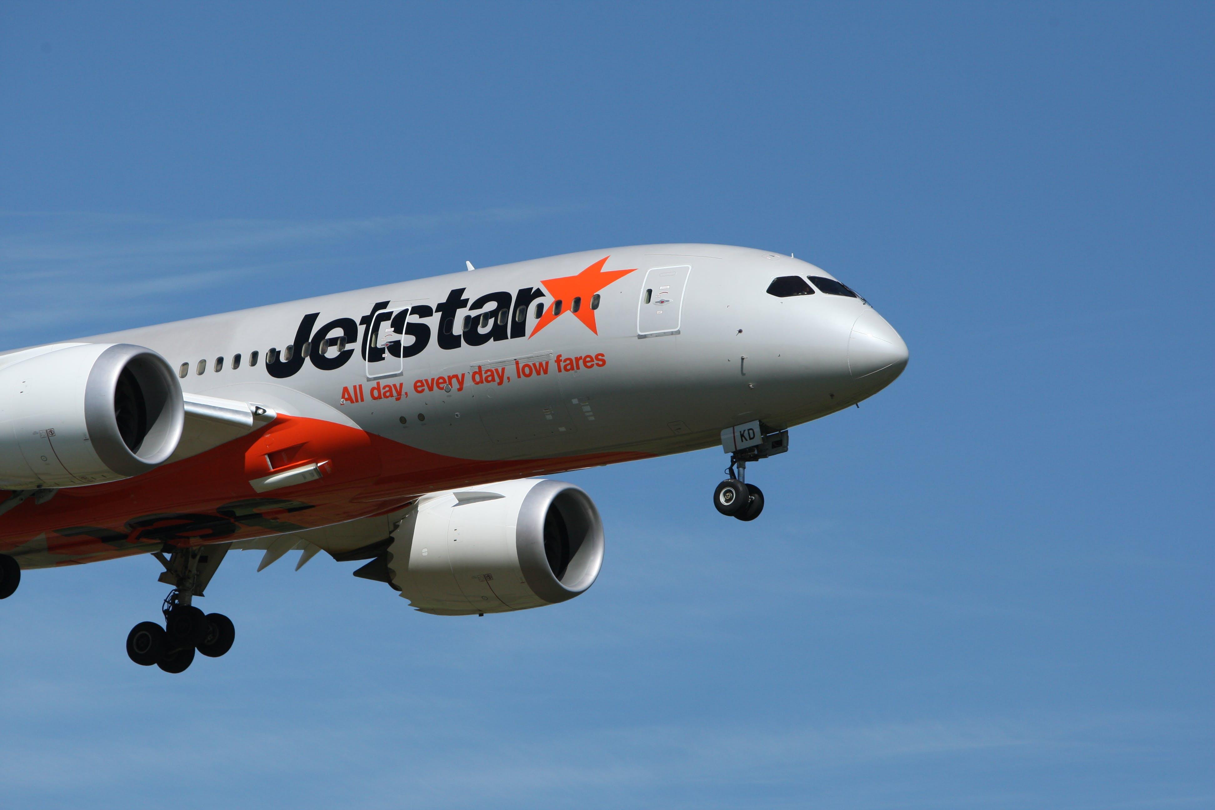 White Jetstar Airplane