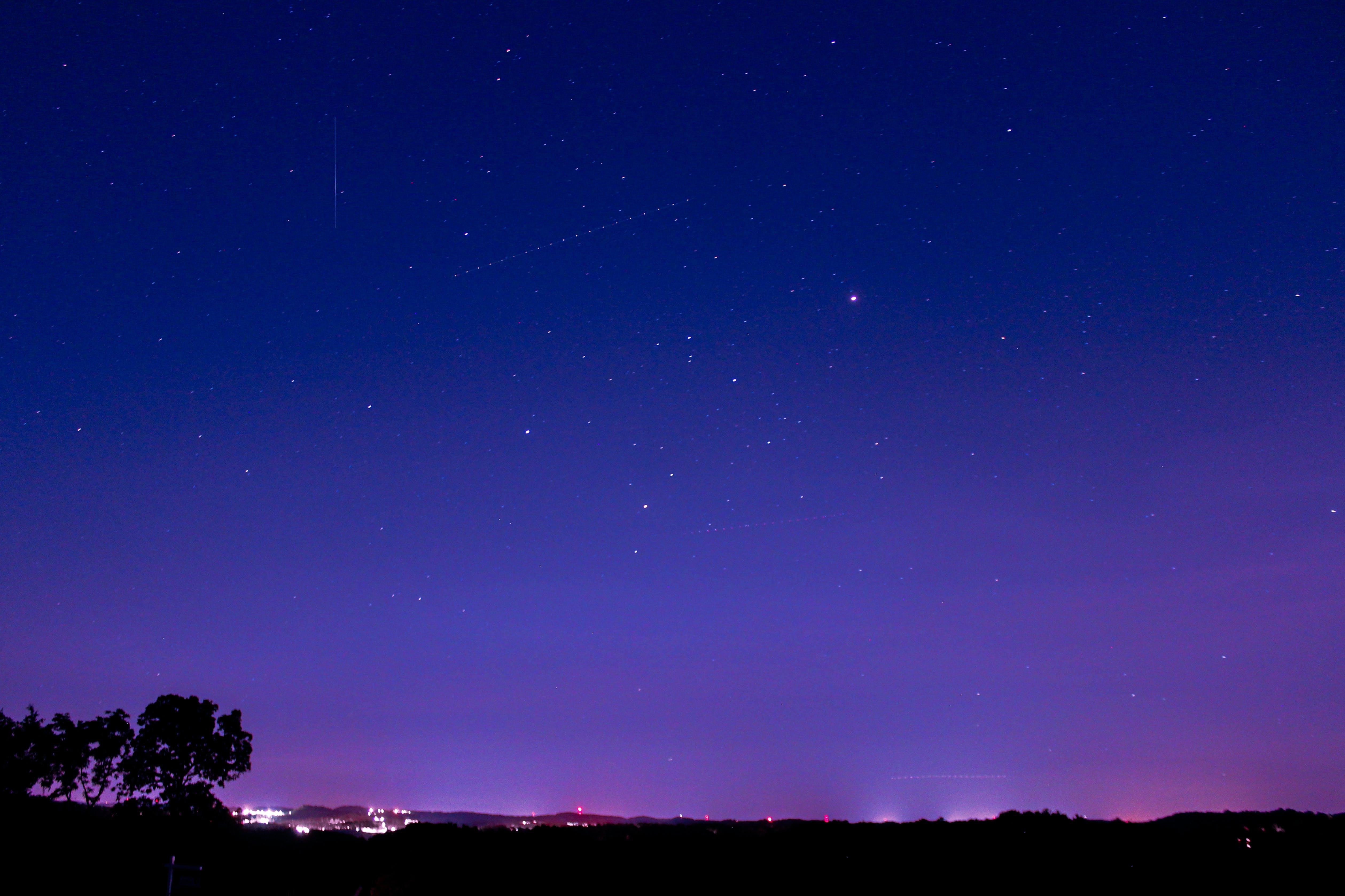 Foto d'estoc gratuïta de astronomia, cel, estrelles