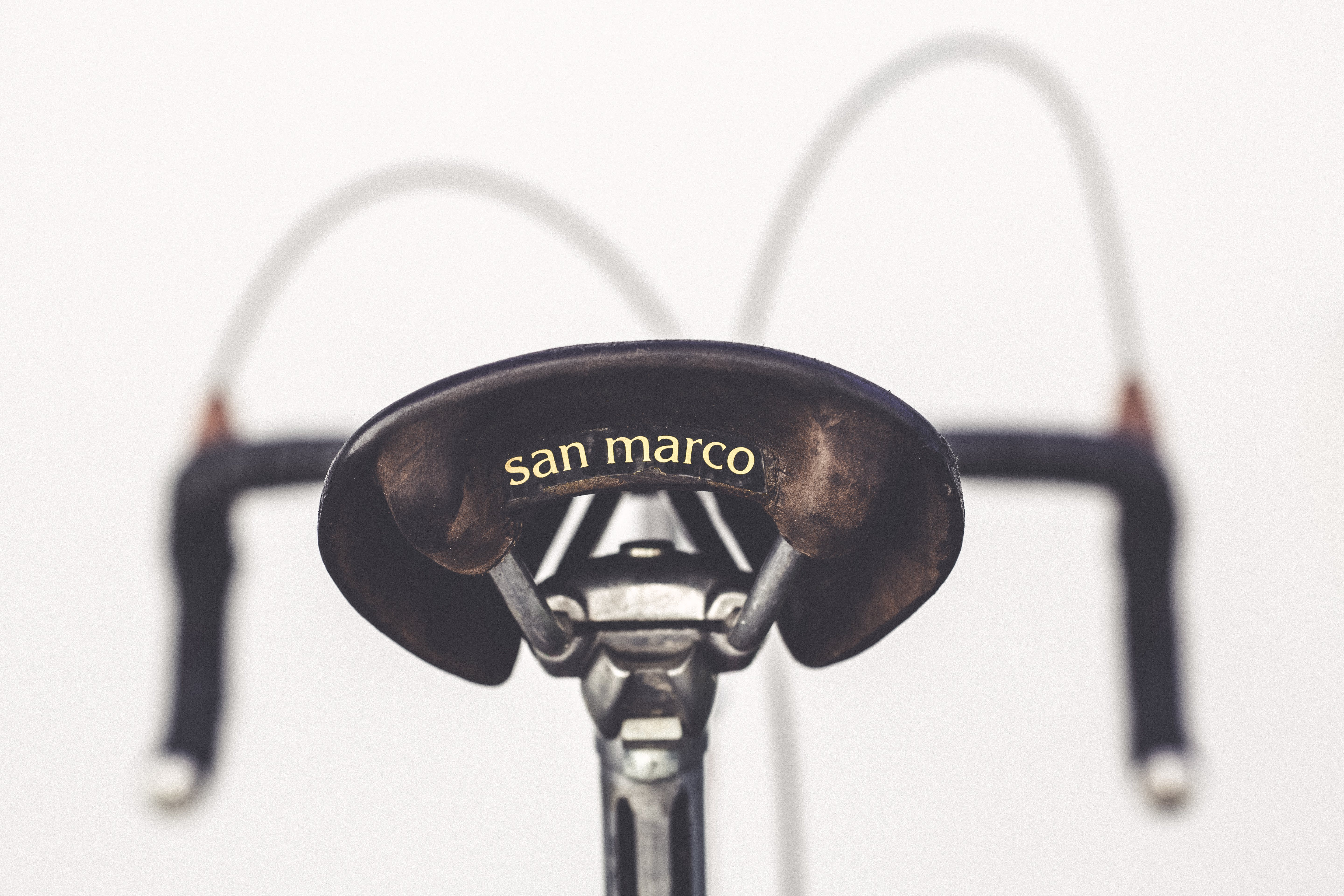 Close-Up Photography of Bicycle Saddle