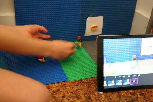 iPad, ストップモーション, レゴ, 映画製作の無料の写真素材